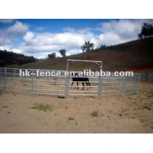 panel de caballos redondos redondos Panel de jardinería rancho panel