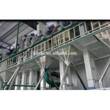 Planta moderna de alta qualidade do moinho de arroz de 20T / D mini