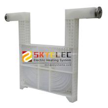 Intercambiador de calor de PTFE tubular industrial