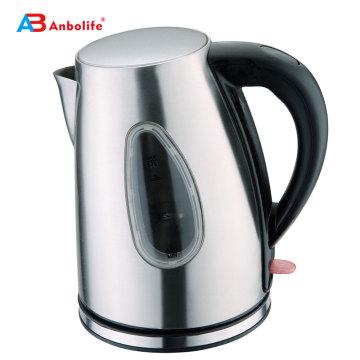 Электрический чайник объемом 1,8 л со шкалой уровня воды Подогреватель для воды и чая с автоматическим отключением и защитой от кипячения Электрический чайник