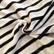 Linho malha Stripe tecido (QF14-1546-SS)