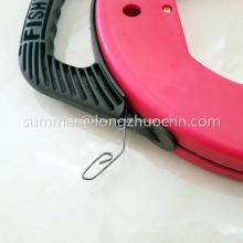 Estuche de cinta de pescado de acero pesca general en conducto