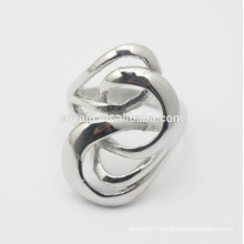 High-grade Decorative Lady Trendy Anti Allergies Best Gift Jewelry Turkish steel silver Hollow Out Vintage long Ring drop ship