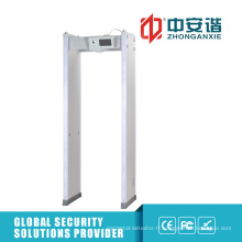 Anti-interférence Multi-Alarm Zones Exhibition Safe Door Frame Metal Detector