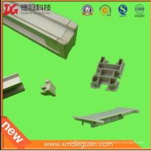 Venta al por mayor de plástico de plástico de protección de aluminio marco Cap
