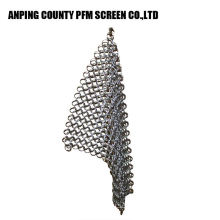 Ss Wire Popular Round Wire Mesh 316 7*7 8*8 Stainless Steel Chainmail Scrubber