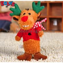 Weiche Plüsch Weihnachten Hirsch Tier Haustier Spielzeug für Hund und Katze Bosw1084 / 15cm