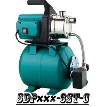 (SDP600-3ST-C) Casa autocebante jardín Jet Booster bomba de agua con tanque