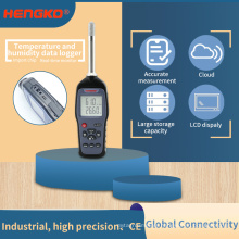 Digital thermo-hygrometer Temperature and Humidity Meter with Dew Point and Wet Bulb humidity sensor