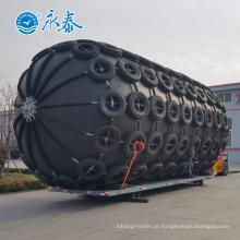 Pára-choque de borracha pneumático do diâmetro 1.7x 3M para a atracação do navio