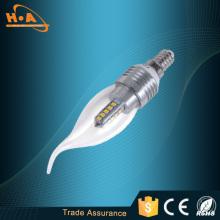 Spiral Candle Tailer Shape 4W Energy Saving Lamp