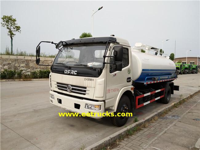 Dongfeng 1000 Gallon Sewage Cleaner Trucks