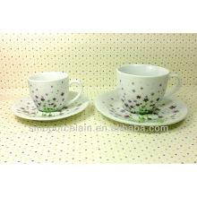 Conjunto de café de porcelana para BS131222E