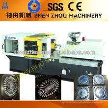 Horizontal máquina de moldagem por injeção / SHENZHOU máquinas SZ / Imported mundo famoso componente hidráulico CE TUV