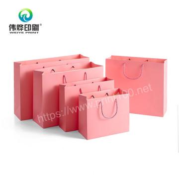 Custom Packaging Shopping Paper Bag for Gift Custom Design Printing