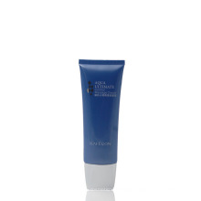 Plastic massage cream squeeze cosmetic oval package tubes