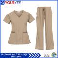 Cheap Customized Fashion Hospital Medical Uniforms Nursing Scrubs (YHS113)