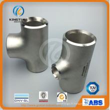 Raccords de soudage en acier inoxydable Tee égale avec Ce (KT0329)