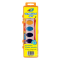 Water Color Cake(sheet-solid) and crayon set