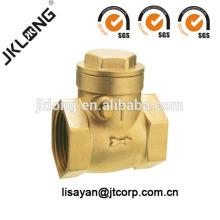 J5004 Válvula de retención de latón forjado, válvula de retención