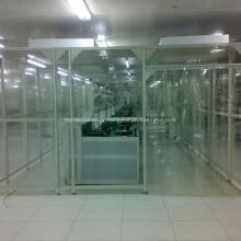 Salle blanche modulaire sur mesure pour murs pour l'industrie pharmaceutique