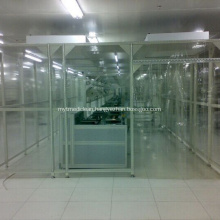 Customized Hardwall modular cleanroom for pharmaceutical