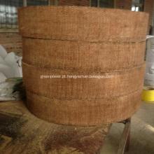 Rolamento de forro de freio de resina tecida marrom