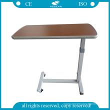 Table de chevet d'hôpital AG-Obt001-2 de haute qualité