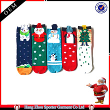16FZCSS1 chaussette de Noël jacquard de vacances