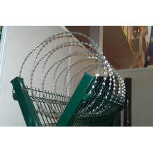 High Security and Quality Galvanized Metal Airport Fence