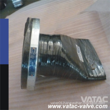 API 6D Rubber Duckbill Check Valve with RF Flanged