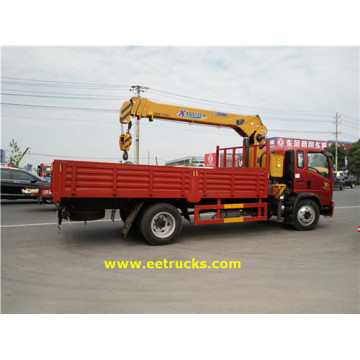 4x2 5 Ton XCMG Camiones grúa