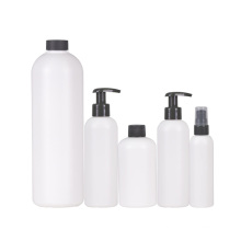 skin care usage 8 oz 100 ml 250 ml pump sealing pet bottle for lotion shampoo pet containers