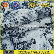 nouveau point sellerie tissu coton polyester peluche est le modèle chinois