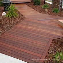 Revestimento de madeira exterior da plataforma de Merbau com tratamento do óleo de planta
