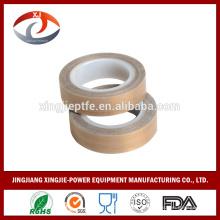 China PTFE recubierto cinta de calor de fibra de vidrio con el precio bajo de SGS / FDA en resistente a alta temperatura y cinta anti-adhesivo
