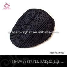Chapéu de hera preta de jornal de homens