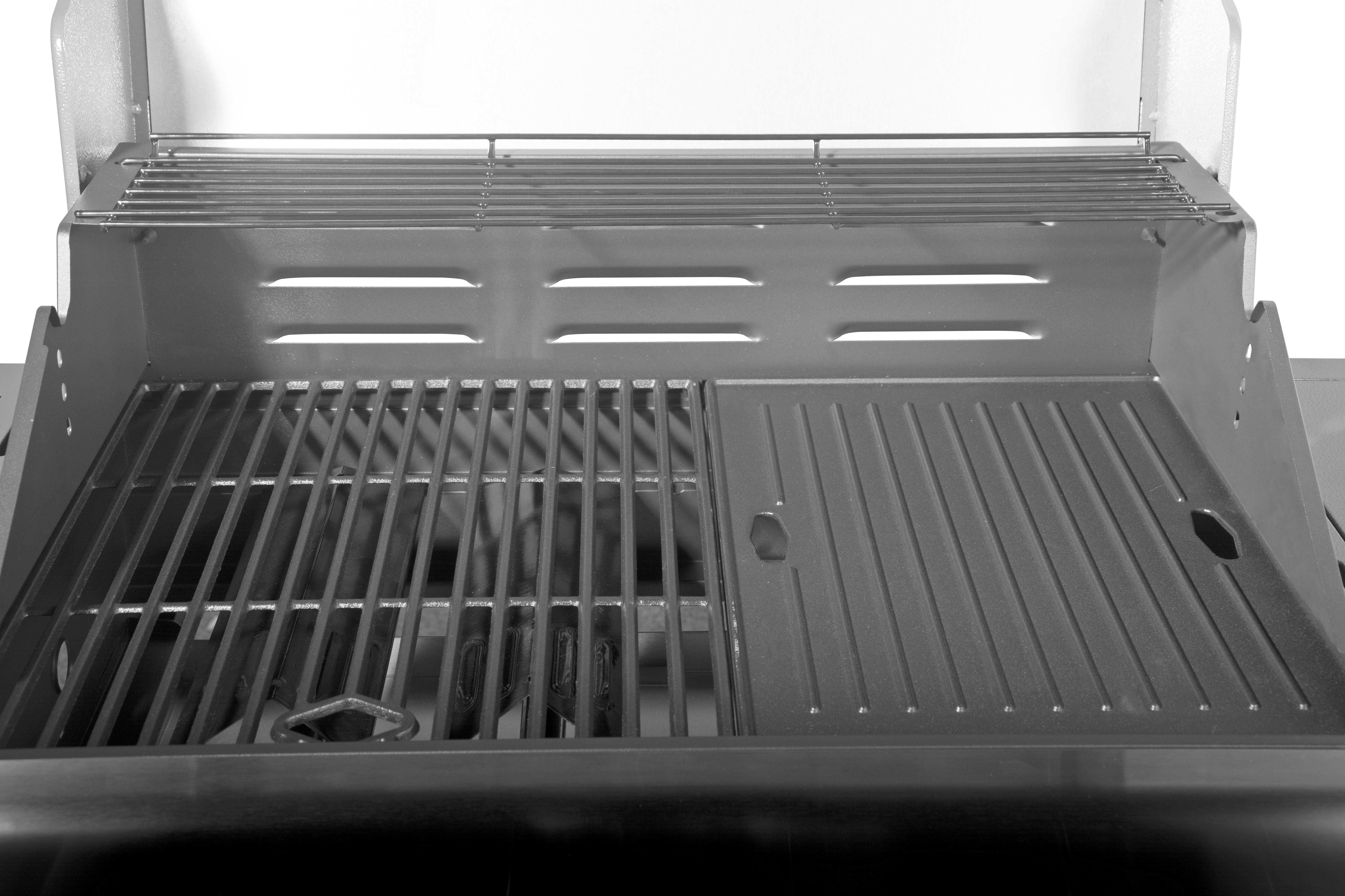 4 Burner Stainless Steel Gas Grill