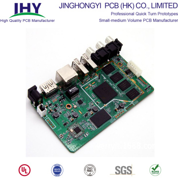 Custom FR-4 PCB Board Fabrication and Assembly