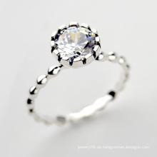925 Sterling Silber Schmuck Großhandel neue Modell retro 925 Sterling Silber Diamantring