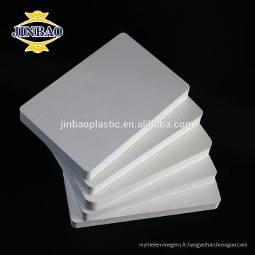 JINBAO décoration pvc mousse 5mm feuille pour panneau de toit