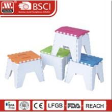 Plastic folding stool