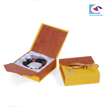 Retail small Kraft paper cardboard box for jewelry bracelet packing