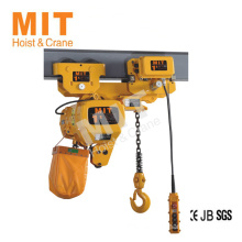 Professional Factory Supply Top Quality 1 ton electric chain hoist with competitive offer
