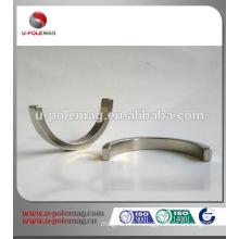 Neodymium arc segment magnet