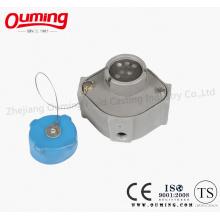 Алюминиевые оптические розетки для предотвращения переполнения