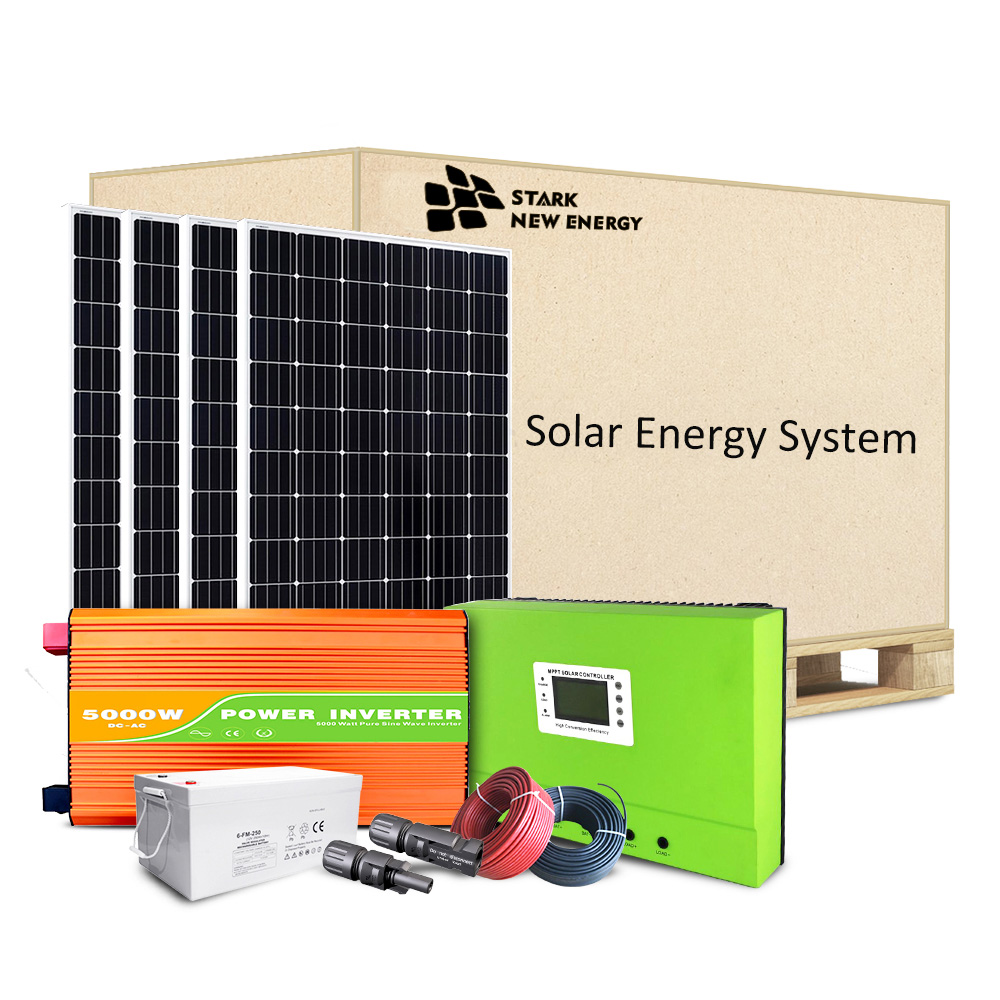 5KW Off Grid Solar Energy System
