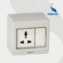 Евро стандартный электрический женский адаптер 3-контактный разъем