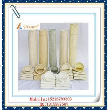 Filtro de polvo Poliéster aguja bolsa de filtro de fieltro