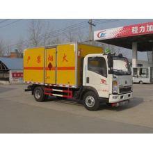 Camion de transport d'équipement de dynamitage de SINOTRUCK